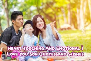 I Love You Son Quotes