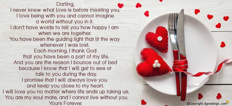 Him for relationship new letters Deep Romantic