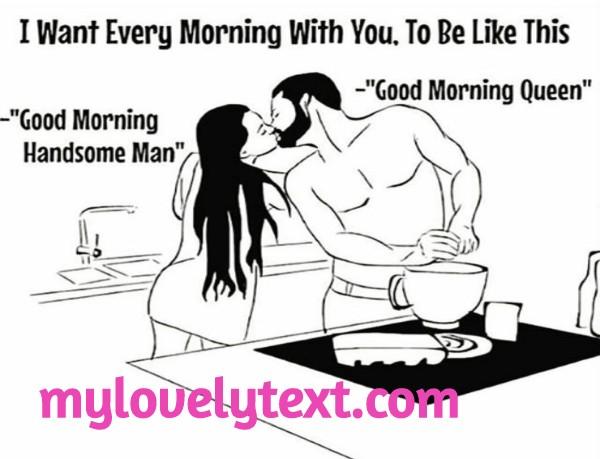 cute good morning meme for him