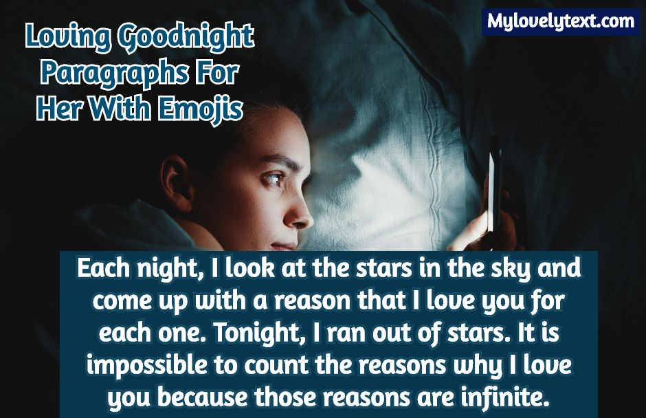 Text for her best goodnight 45+ Best