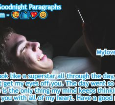 60 Sweet Goodnight Paragraphs For Him
