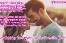 Breathtaking Love Poems For HeR
