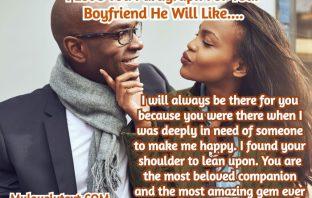 Paragraph For Your Boyfriend