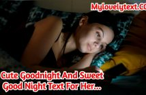 Good Night Text For Her