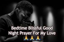 Good Night Prayer For My Love