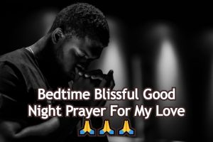 Good Night Prayer For My Love