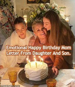 Emotional Happy Birthday Mom Letter