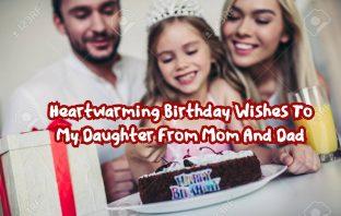 Birthday Wishes To My Daughter