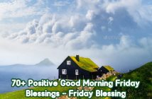 Good Morning Friday Blessing