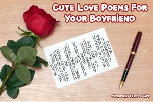 Poem For Boyfriend